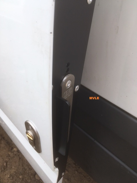 Ford Transit Mk7 Reinforcement Plate V2 Mobile Van Locks